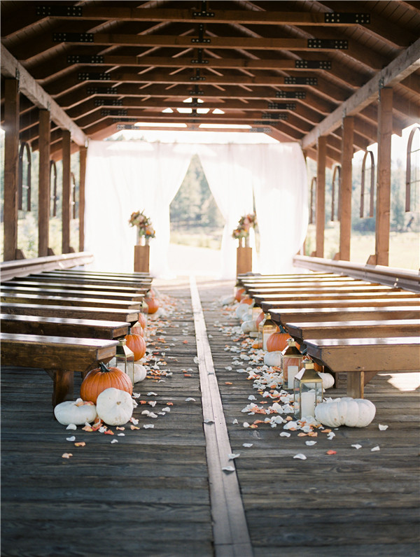 Fall Wedding Aisle Decorations to Blow Your Mind Away!